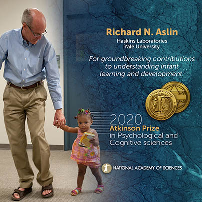 Photo of Richard Atkinson and young research study participant