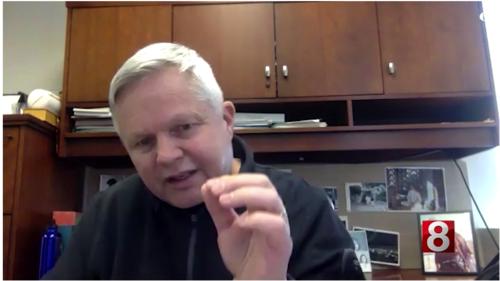 Dr. Kenneth Pugh on WTNH News 8